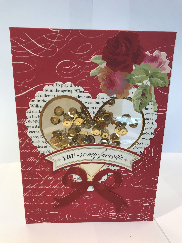 Vintage style valentine shaker valentine card valentines day vintage style valentine shaker valentine card valentines day card romantic valentine valentine kristyandbryce Gallery