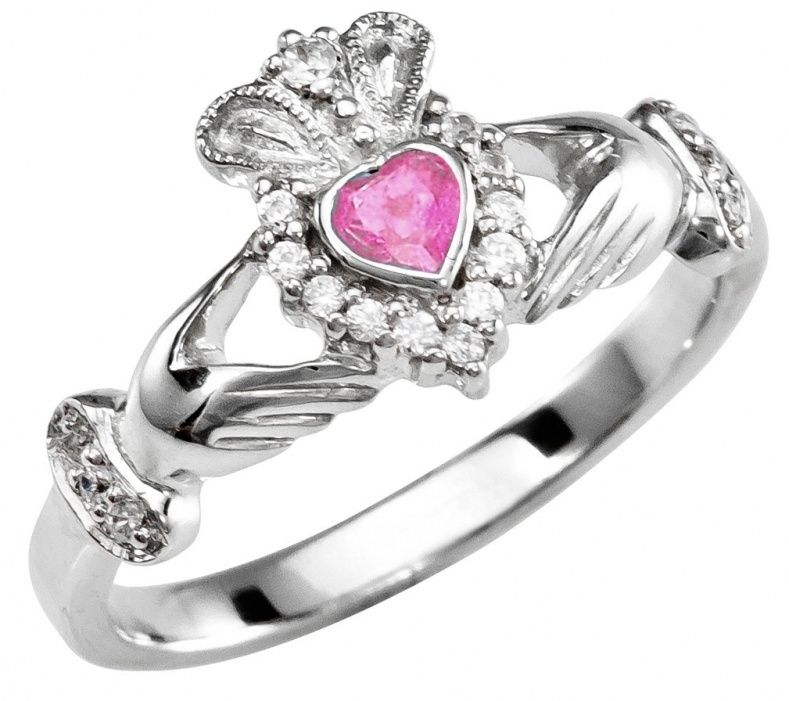 rings ring product birthstone wedding ireland from large september claddagh