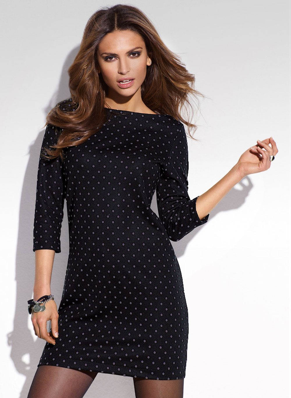 8a7cc7256d2ec Más de 40 vestidos de fiesta color negro