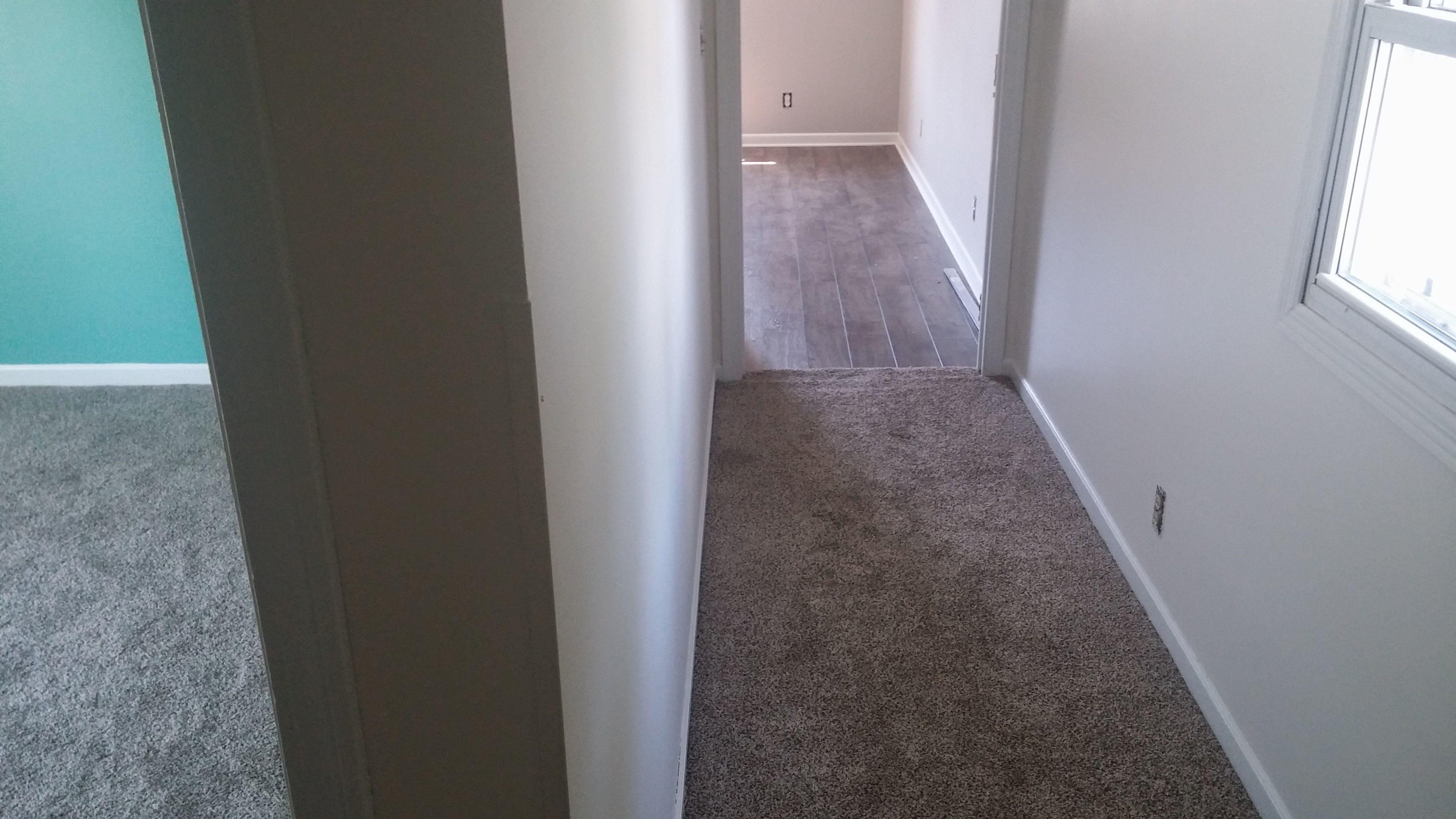 Hallway New Carpet To New Laminate Wood Floor In Master Bedroom Bedroom Wooden Floor Wood Laminate Flooring Bedroom Flooring