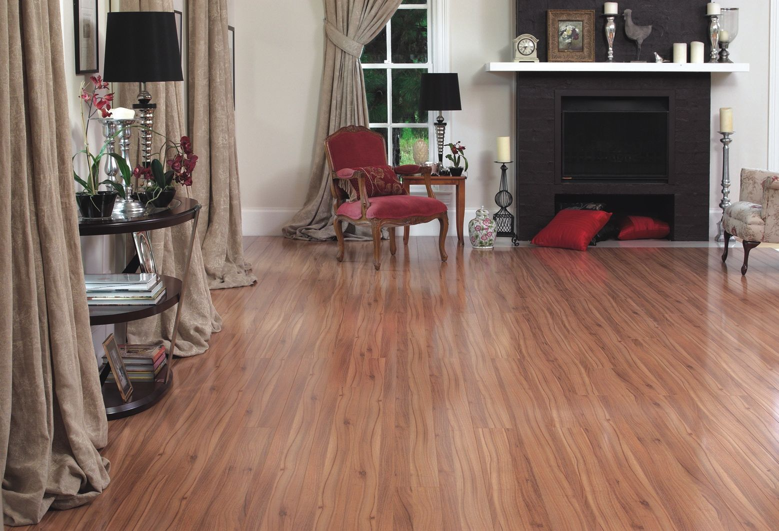 Timber Impressions 'Queensland Walnut' Laminate Flooring - The ...