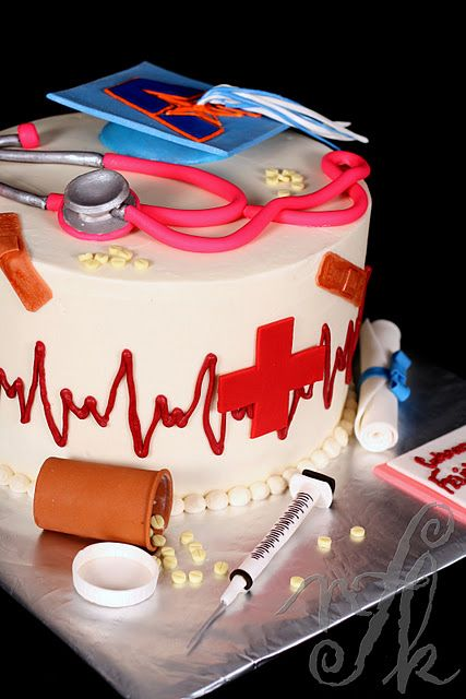 Nurse Graduation Cake I Want This Made For Me When I M