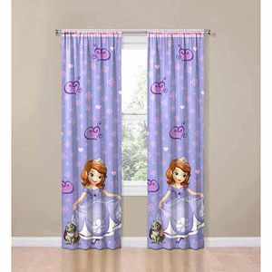Home Sofia The First Room Kid Room Decor Girls Bedroom Curtains