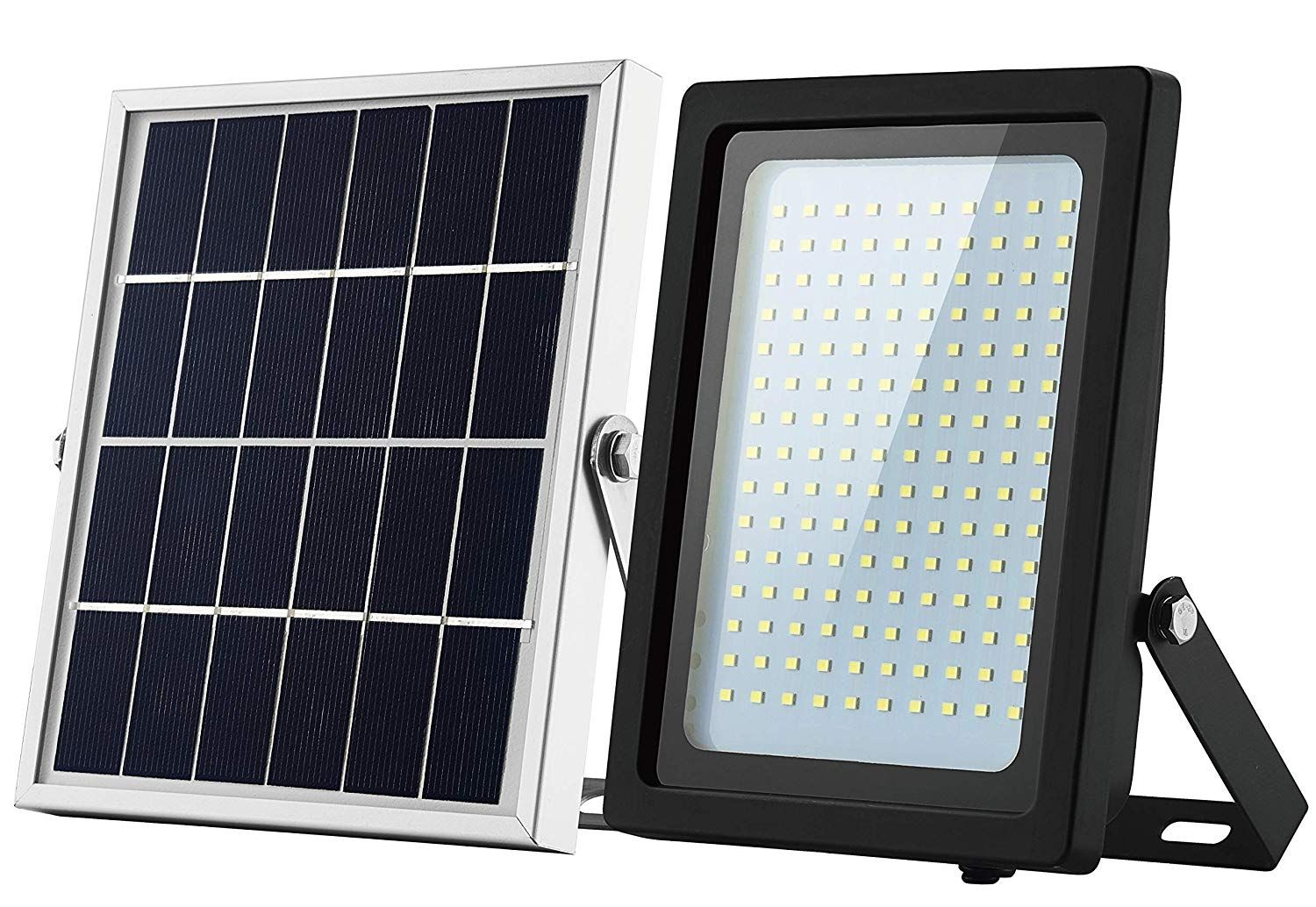 Solar Floodlight Outdoor 150 Led Ip65 Waterproof With Sensor Auto On Off For Dusk To Dawn Pathway Entry And Dri Dusk To Dawn Solar Flood Lights Security Lights