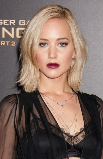 Fierce Medium Length Hairstyles Sophisticated Allure Page 2 Medium Length Hair Styles Jennifer Lawrence Hair Hair Styles