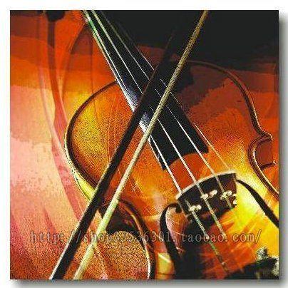 Violin Abstract Painting