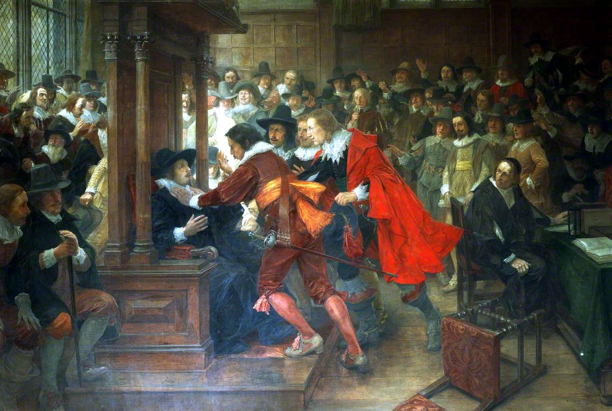 House of Commons, 16281629, Speaker Finch Held by Holles