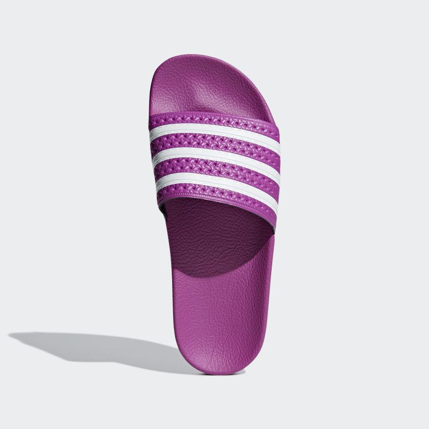 Adilette Slides Vivid Pink / Vivid Pink / Cloud White CG6539 ...