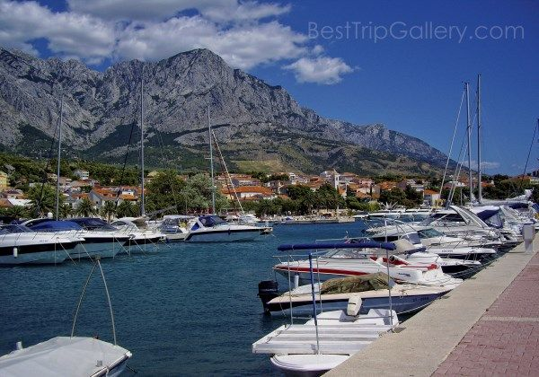 Baska Voda City See Most Awesome Places Of Croatia Weltreise