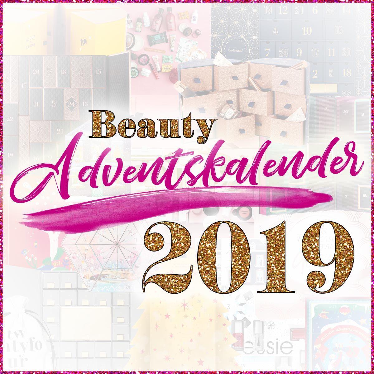 Die besten BEAUTY ADVENTSKALENDER 2019 ★ Übersicht