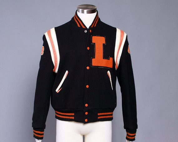 Vintage Varsity Jacket Howe 1960 S Men S By Royalestablishment Varsity Jacket Mens Attire Jackets