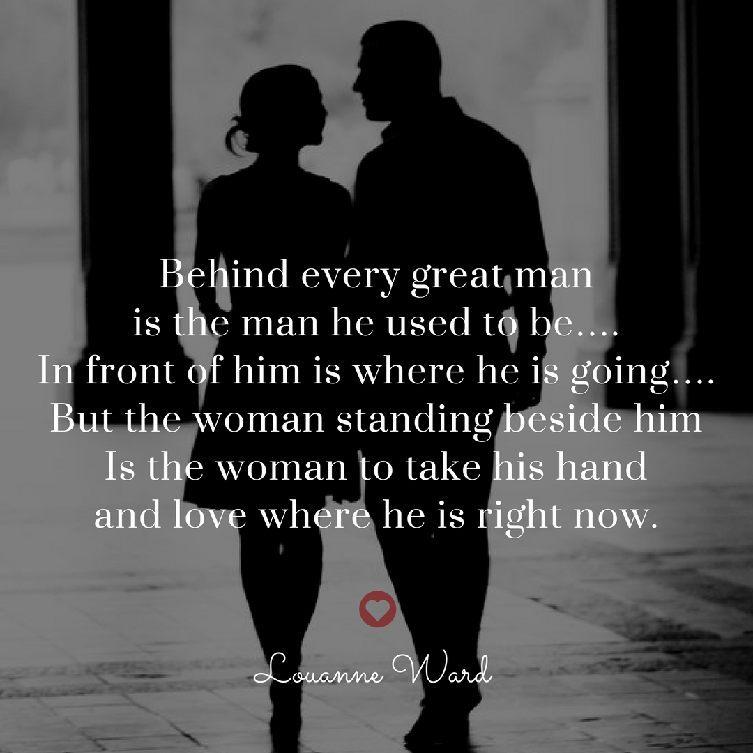 Great Love Quotes For Her A Great Women Isn't Behind Every Man And She Isn't Expecting Her