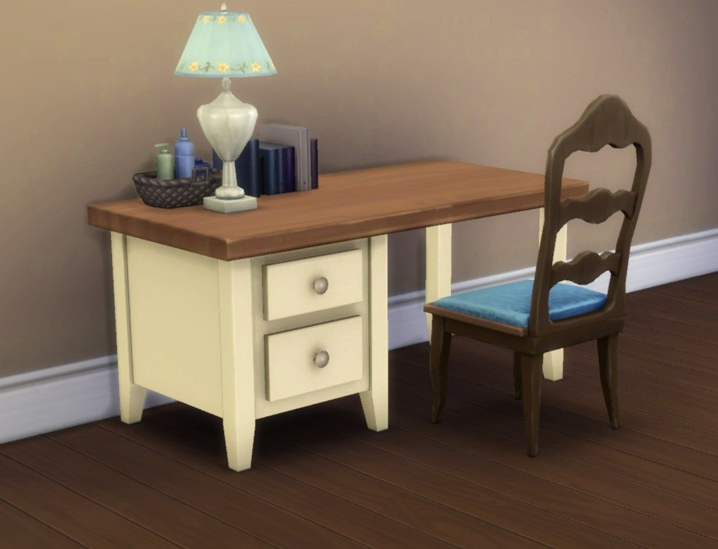 Mod the sims boring desk office desk corner desk sims 4 cc finds