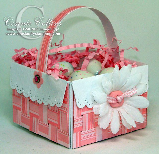 Easy woven easter basket easter baskets easter and homemade easy woven easter basket negle Gallery
