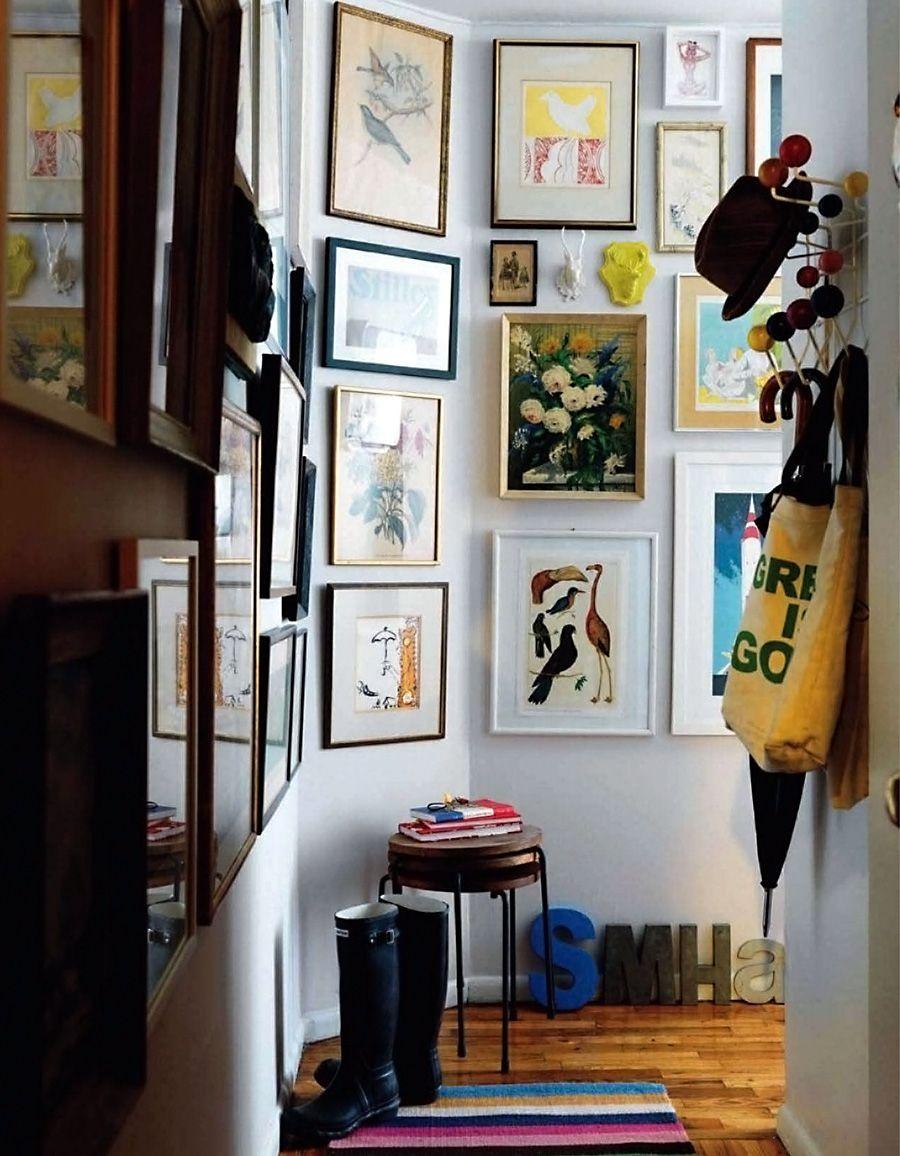 Hallway entry decor design homes walls home pinterest