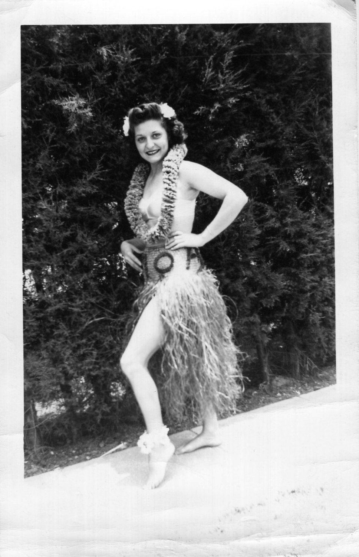 hula photography vintage