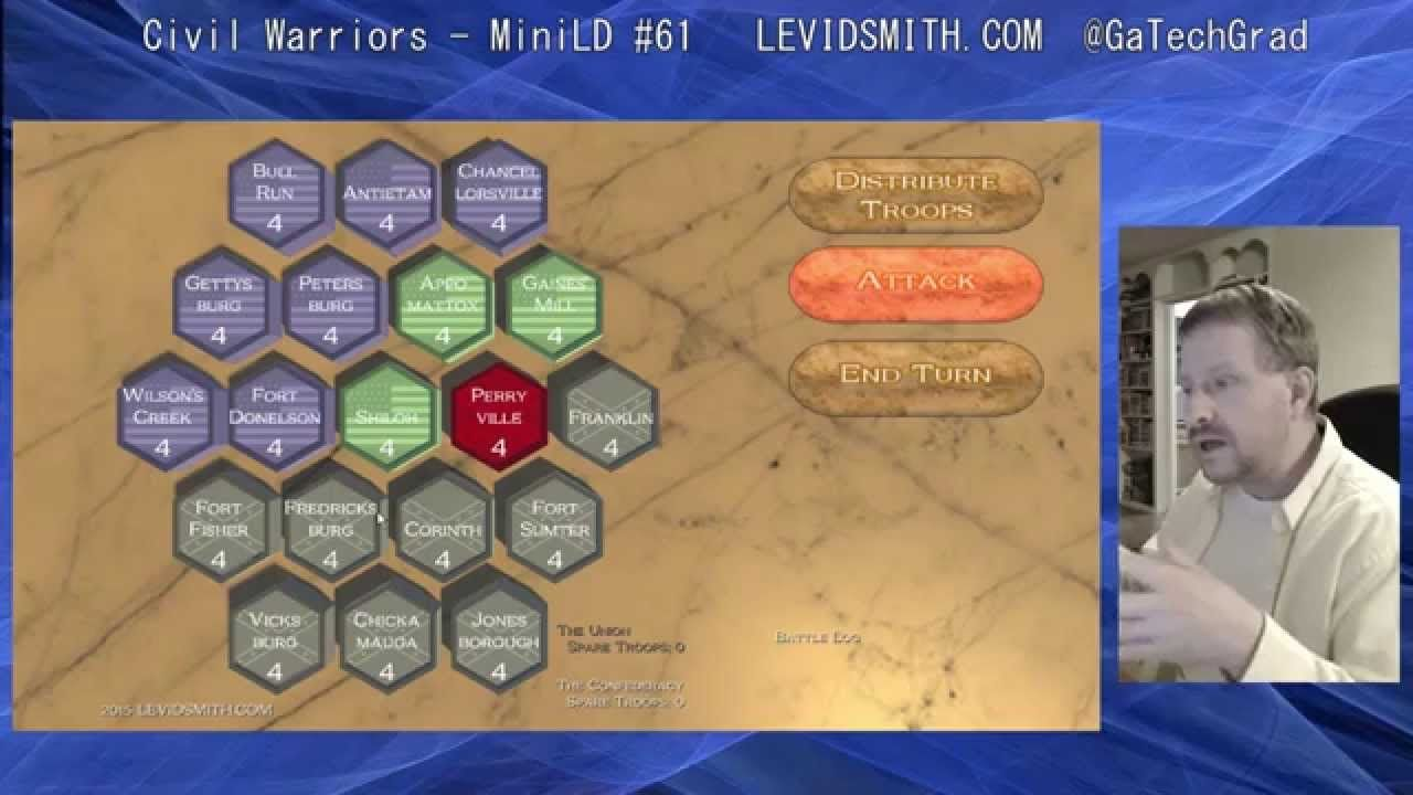 Civil Warriors Developer Commentary Civil warrior