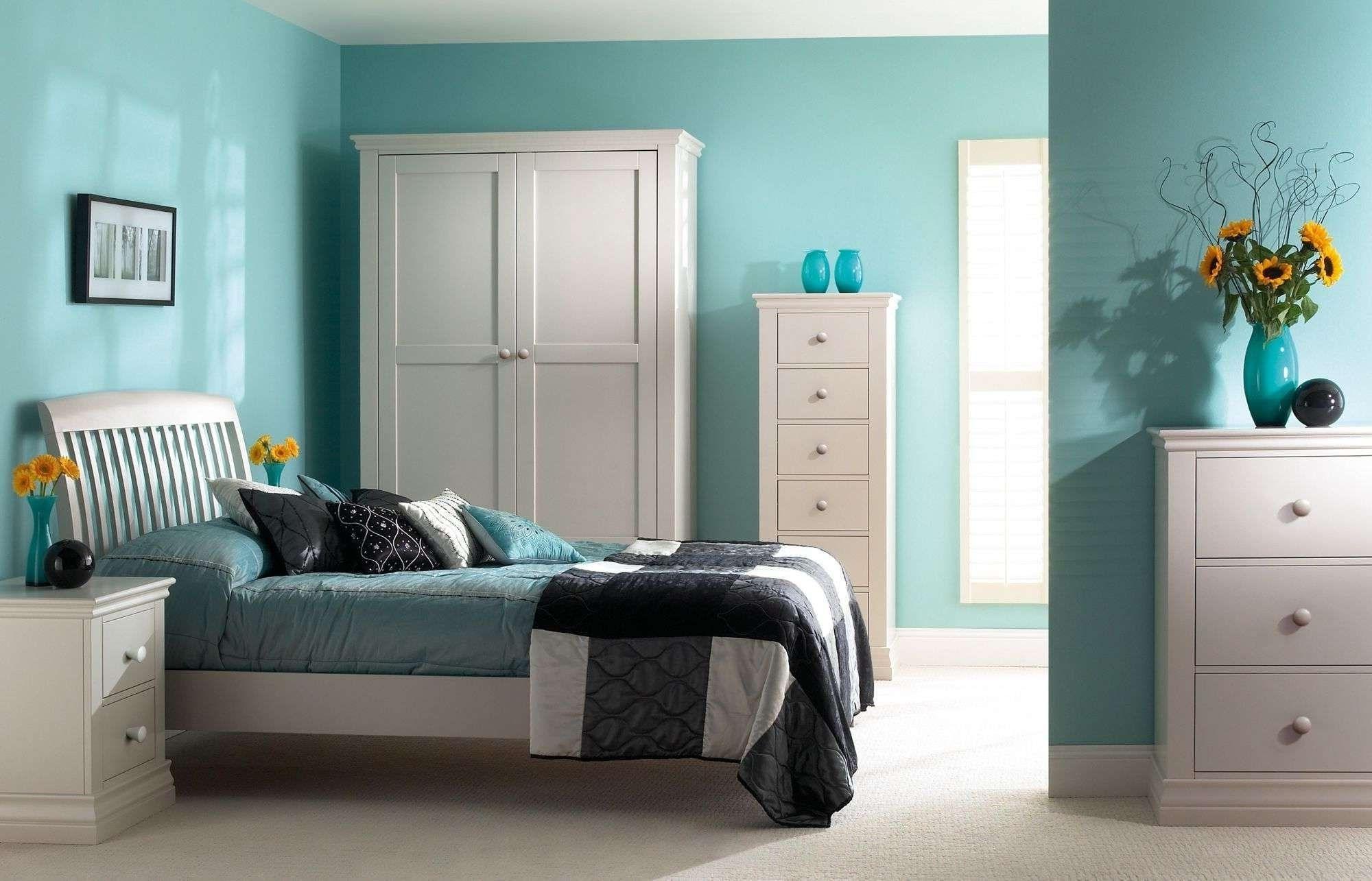 Wand Farbe Kombination Für Kleine Schlafzimmer - Schlafzimmer ...
