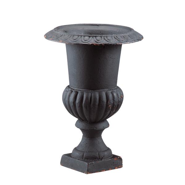 Cast Iron Urn Black At Belleandjune Garden Urns Planters Urn