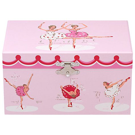 Buy Cath Kidston Ballerinas Musical Jewellery Box Online at