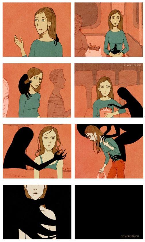 Depression (illustration by Sylvie Reuter)