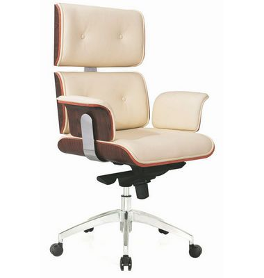 Luxury Leather Office Chair Pu Executive Boss Eames