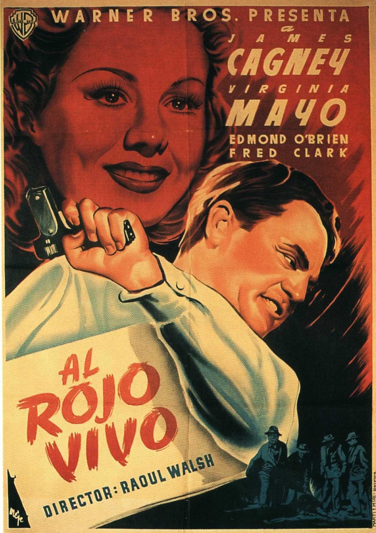 Al Rojo Vivo 1949 Criticas De Cine Carteles De Cine Cine