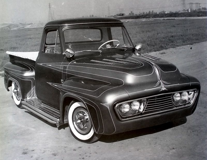 Wild kat... Kustoms Los Angeles Custom cars, Cool trucks