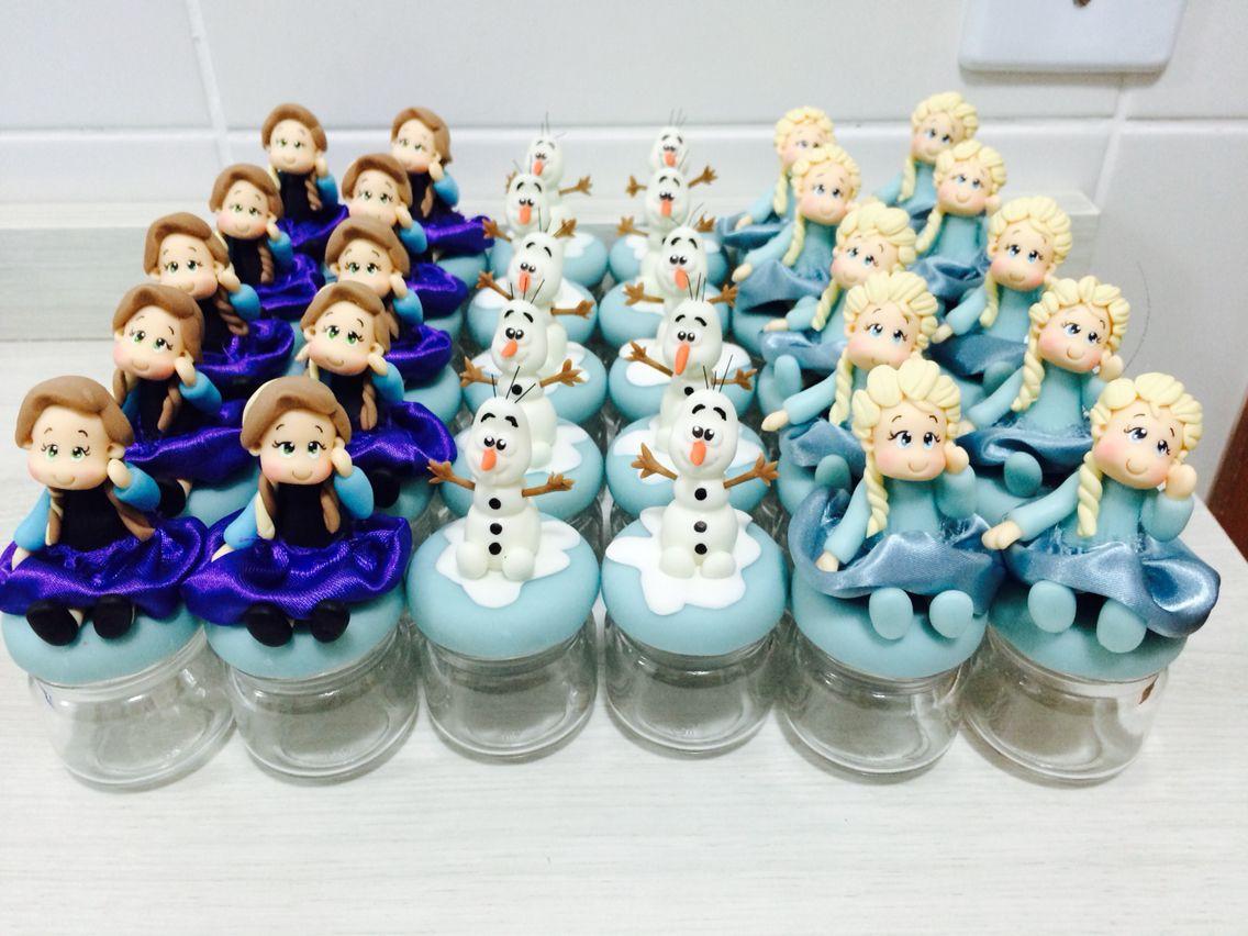 Potinhos Frozen.❄️⛄️