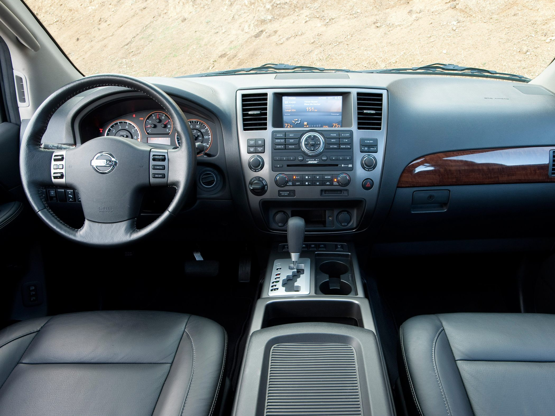 Nissan Armada Interior Front