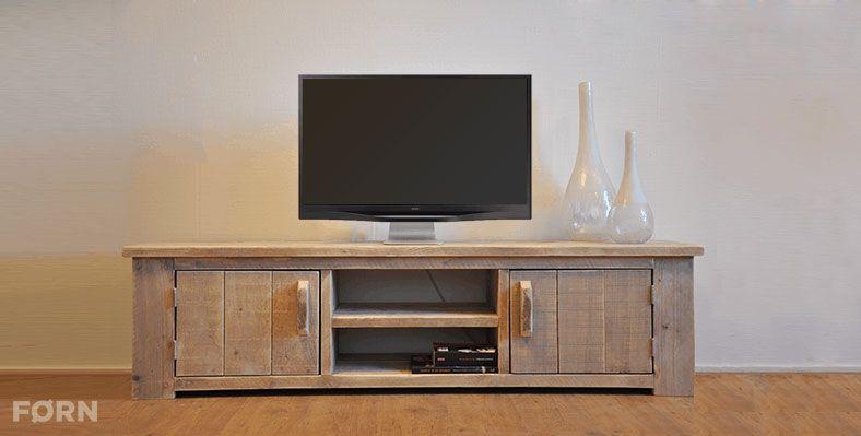 TV Möbel Holz \