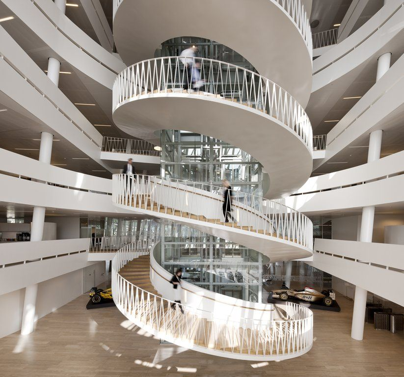 40 Amazing Staircases Details That Will Inspire You: Spiral Staircase Big - Google Search