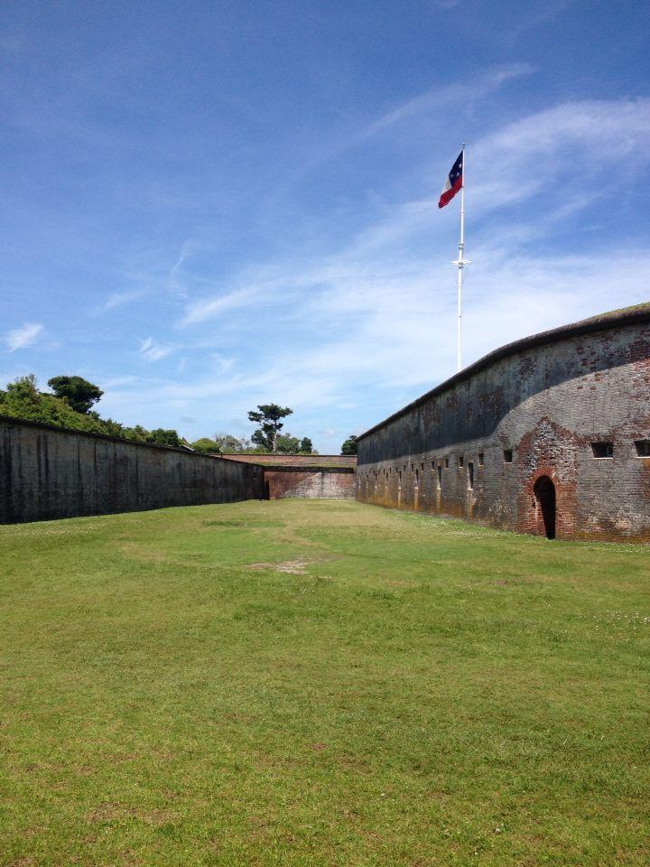 Fort Macon in North Carolina