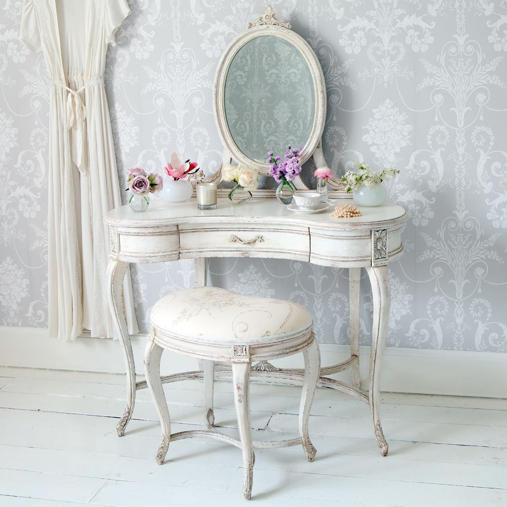 Antique dressing table with mirror - Dressing Table