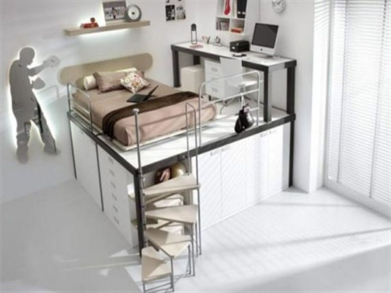 Awesome Cool Loft Bed Design Ideas And Inspirations 99 Cool Loft