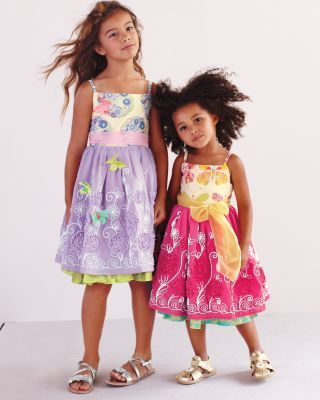 cb08a599bd7527 Butterfly Fantasia Dress by Hopscotch - Baby Girls   Girls