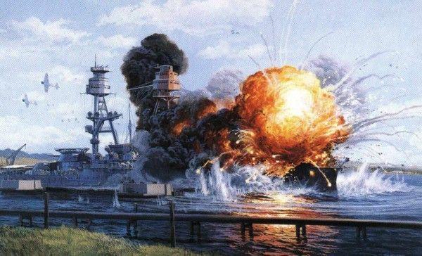 USS Arizona Explosion | USS Arizona's explosion