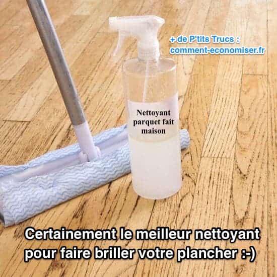 certainement le meilleur nettoyant pour faire briller votre plancher