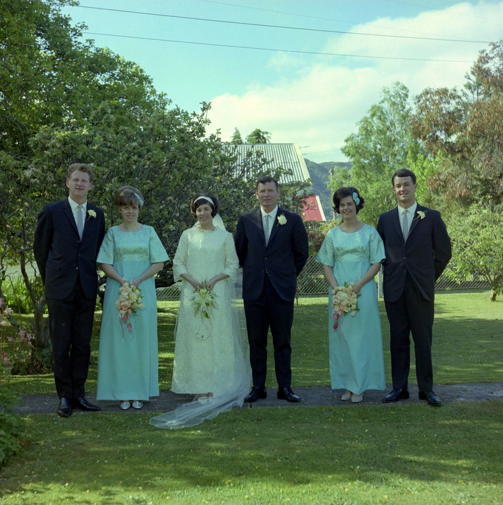 Tricia Nixon Wedding Gown: Hamill & Douglas Wedding. Source: Upper Hutt City Library