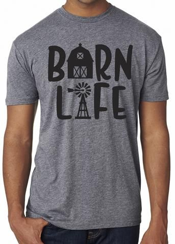 9109acb64 BARN LIFE Graphic Triblend Tee | River Imprints PRODUCTS, Customers ...