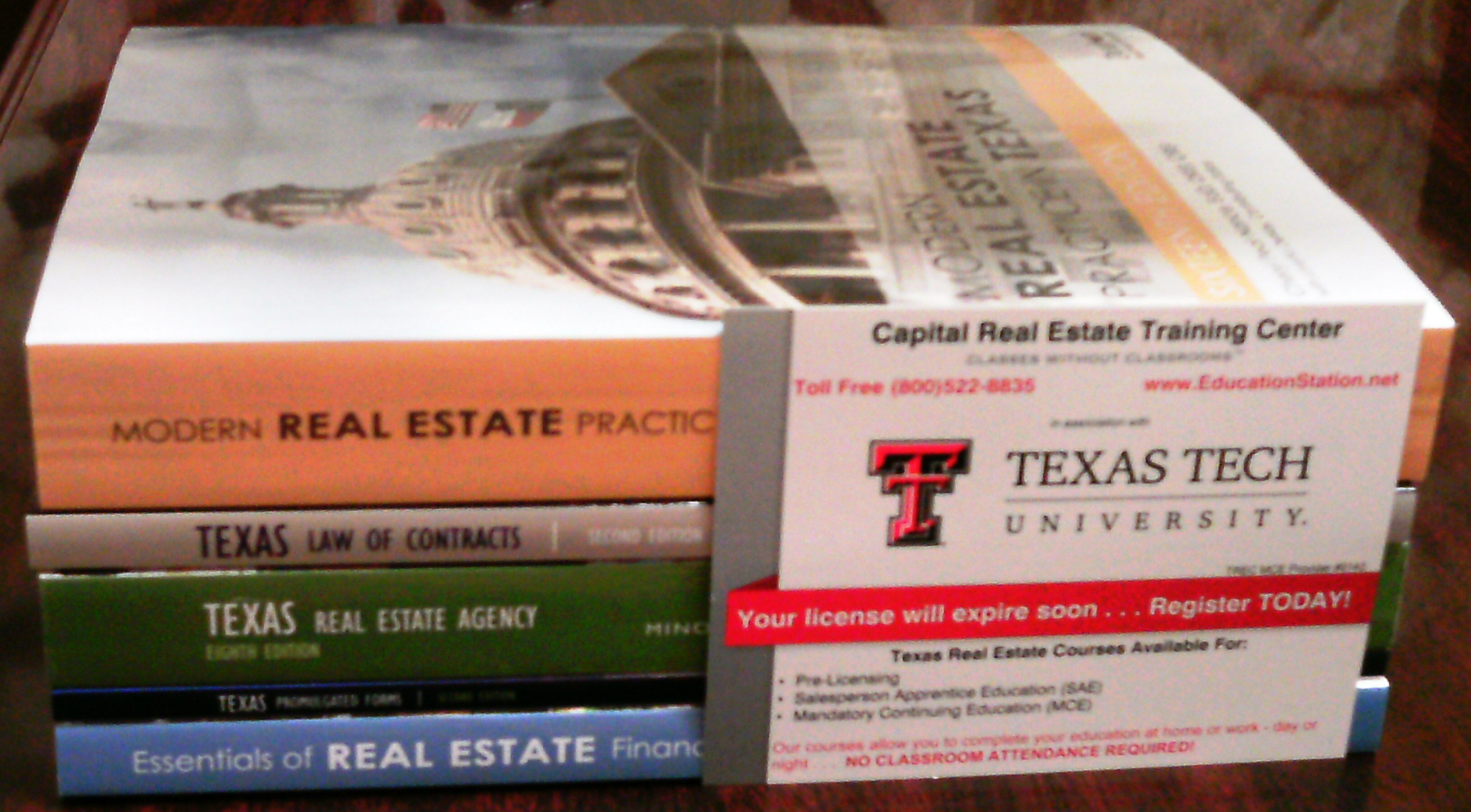 what do you need to get your real estate license in texas