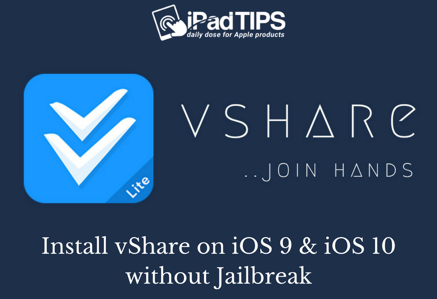 vShare Download iOS 10/ 10.1/ 10.1.1/ 10.2/ 10.3/ 9.3.5