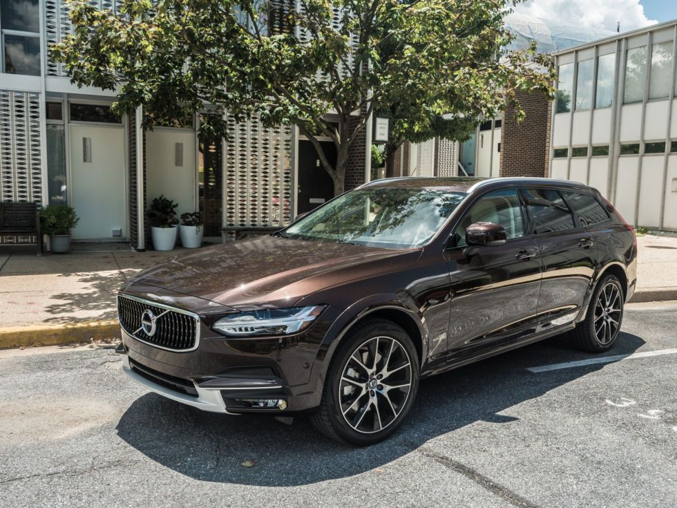 The 2017 Volvo V90 Cross Country A Brown Station Wagon For The 21st Century Volvo Volvo Cars Station Wagon