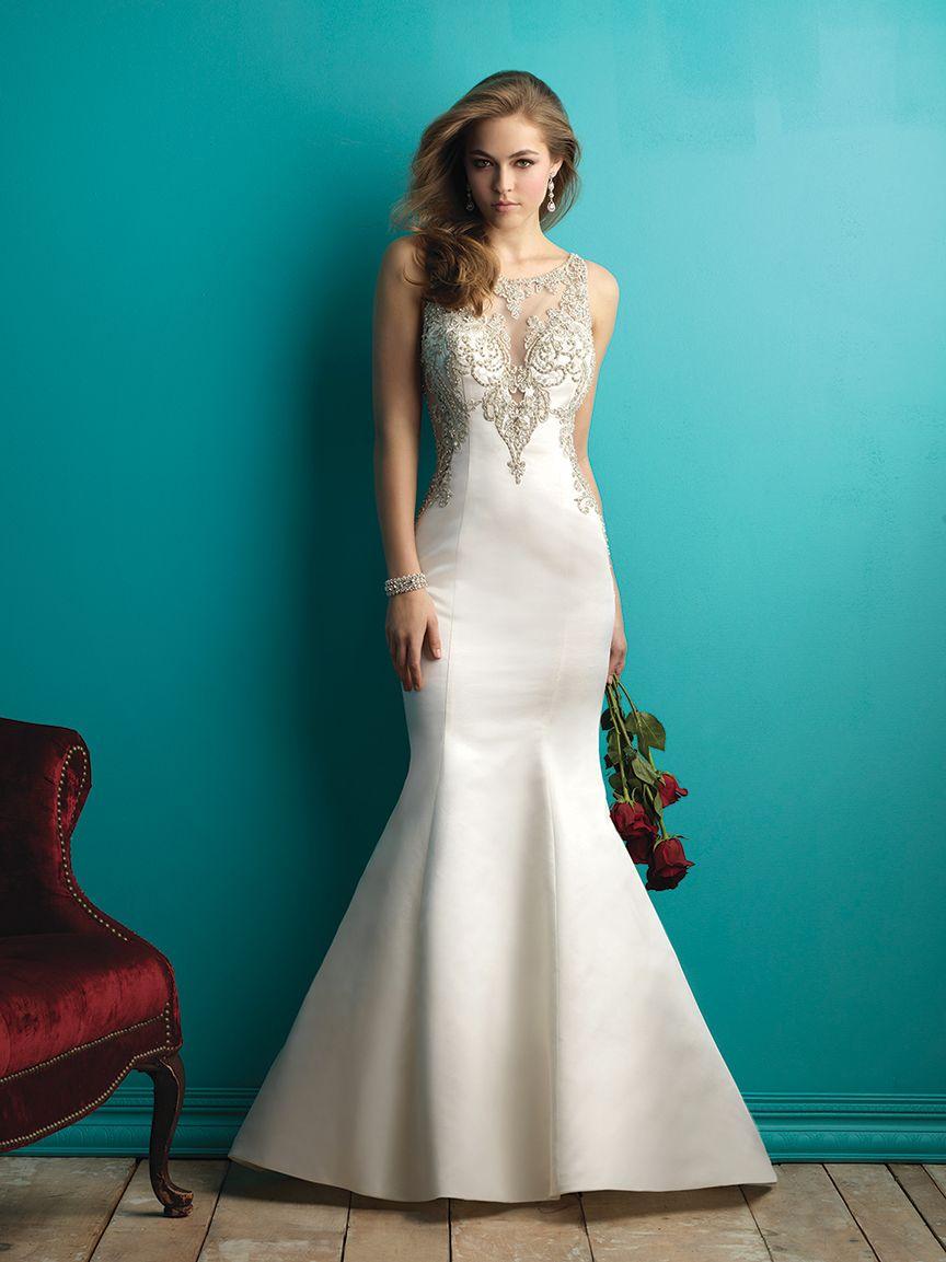 9252 from Allure Bridals   Wedding Dresses   Pinterest   Allure ...