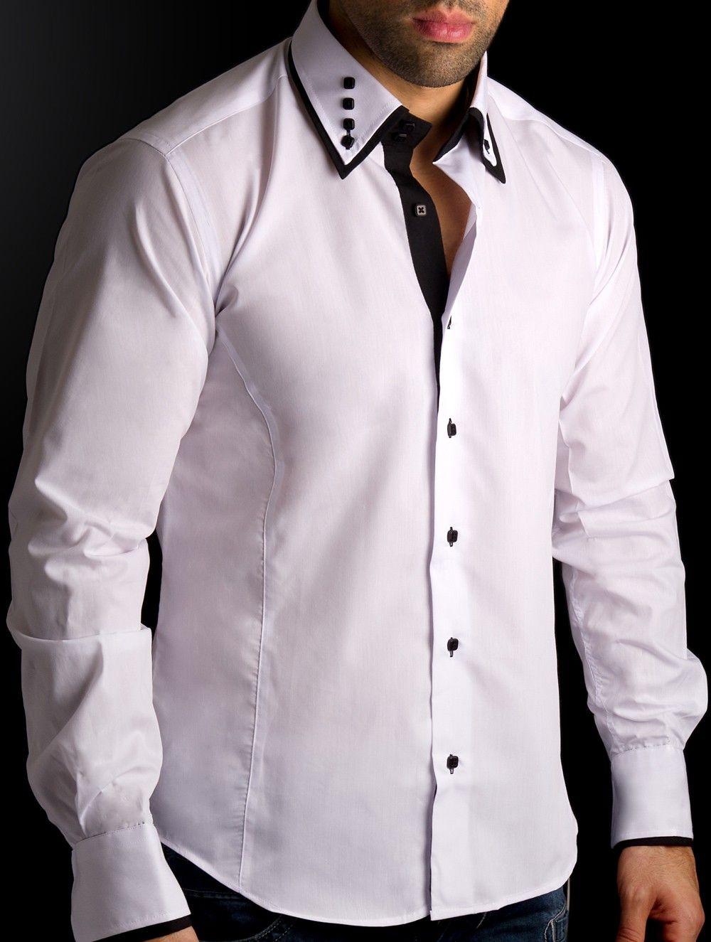 0494bc449 camisas blancas para hombre - Buscar con Google