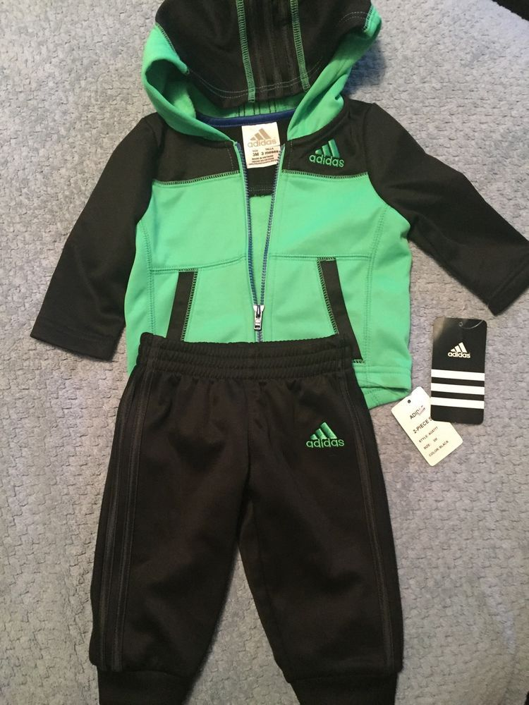 Adidas Baby Boy Track Sweat Suit 3m Nwt Free Shipping From 34 99