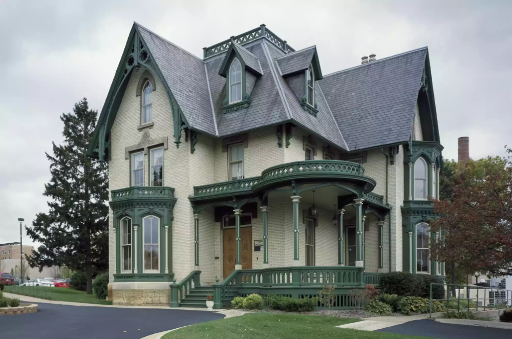 The Real American Gothic Is Architecture Gothic House Gothic Revival Architecture Architecture
