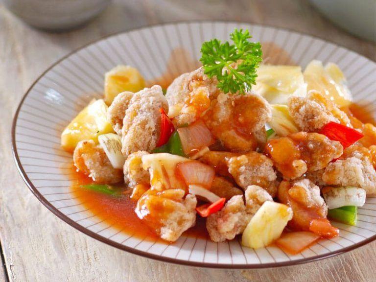 Resep Ayam Koloke Saus Asam Manis Ayam Kuluyuk Di 2020 Resep Ayam Babi Asam Manis Resep