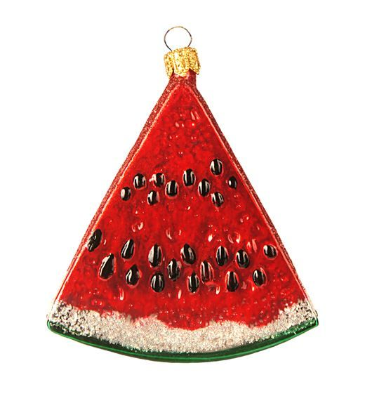 Homewares Christmas Decorations Harrods Red Watermelon Decoration - polish christmas decorations