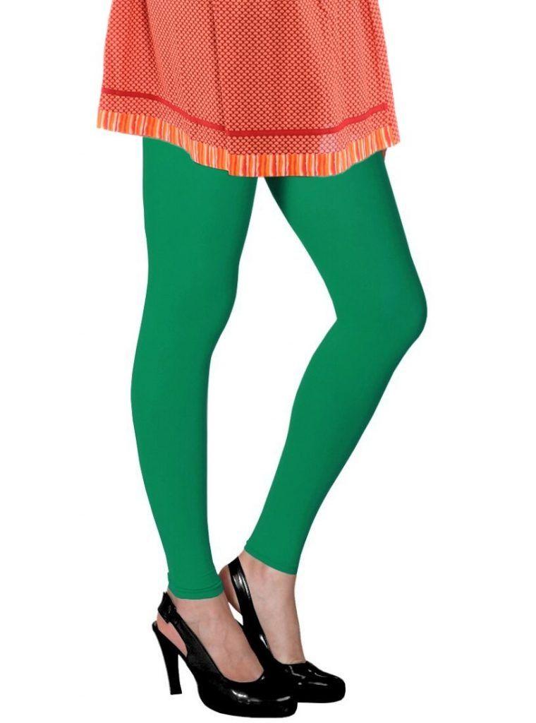 Green Cotton Les leggings Paiement De Visa Pas Cher RdcU5VALHu